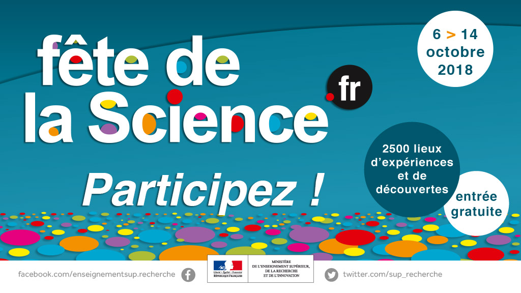 fete de la science participez